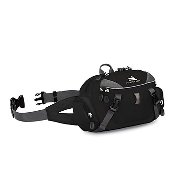 High Sierra Envoy Lumbar Pack Black