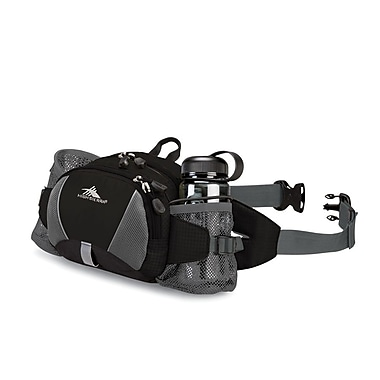 High Sierra Express Lumbar Pack Black