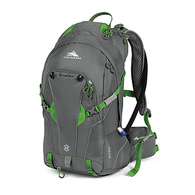 High Sierra Moray 22L Tech Hydration Pack Charcoal Kelly