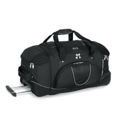 High Sierra AT2500 26 Wheeled Duffel W/ Backpack Straps Black