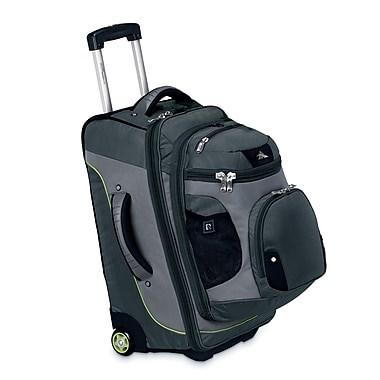 High Sierra AT305 22in. Carry-On Wheeled Backpack W/ Removable Day Pack Graphite