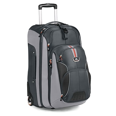 High Sierra AT606 26in. Wheeled Backpack W/ Removable Day Pack Greystone