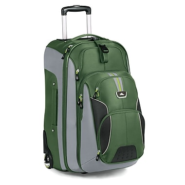 High Sierra AT606 26in. Wheeled Backpack W/ Removable Day Pack Cactus