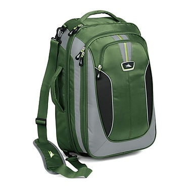 High Sierra AT607 Carry-On TravEL Bag W/ Backpack Straps Cactus