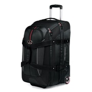 High Sierra 26 Inch Expandable Wheeled Duffel Backpack, Black or Grey
