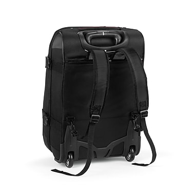 High Sierra AT756 Rolling Upright Duffel 22in. Black