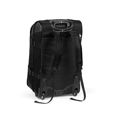 High Sierra AT758 Rolling Upright Duffel 26in. Black