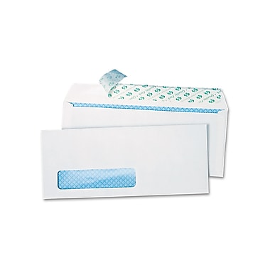 Quality Park Products® Redi-Strip 9in. x 12in. White Envesafe Padded Tamper Evident Envelopes, 10/Pack