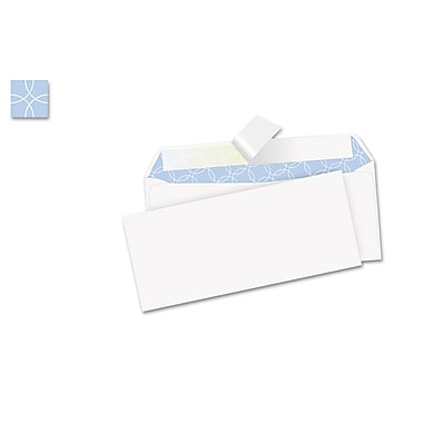Mead® 3 5/8in. x 6 1/2in. White Press-It Seal-It Security Envelopes, 55/Pack