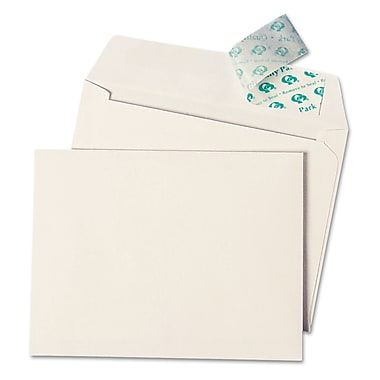 Quality Park Products® Redi-Strip 4 1/8in. x 9 1/2in. White 24 lbs. Security Tinted Envelopes, 1000/Pack