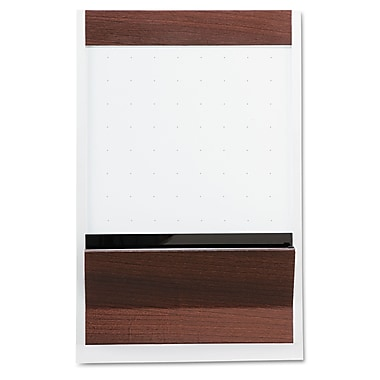 Quartet® Prestige Plus® Premium 2'(H) x 3'(W) Porcelain On Steel Whiteboard, Titanium Frame