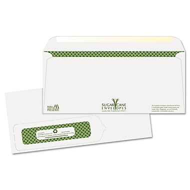 Quality Park Products® Redi-Strip 4 1/8in. x 9 1/2in. White 28 lbs. Window Envelopes, 500/Pack