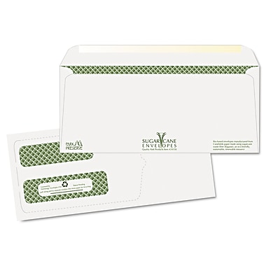 Quality Park Products® 4 1/8in. x 9 1/2in. White 24 lbs. Security Business Gummed Envelopes, 40/Pack