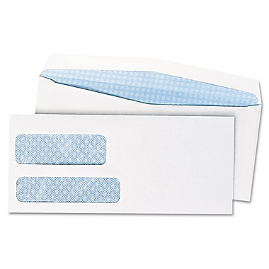 Quality Park Products® 6in. x 9 1/2in. White 24 lbs. Window Postage Saving Envelopes, 500/Pack