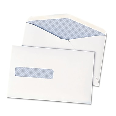 Quality Park Products® Redi-Strip 4 1/8in. x 9 1/2in. White 24 lbs. Envelope Books, 36/Pack