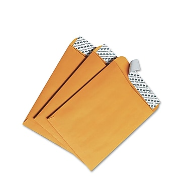 Quality Park Products® Redi-Strip 9in. x 12in. Brown 24 lbs. Catalog Envelopes, 100/Box