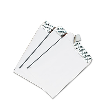 Quality Park Products® Redi-Strip 6 1/2in. x 9 1/2in. White 28 lbs. Wove Catalog Envelopes, 100/Box