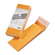 Quality Park™ Redi-Strip™ Kraft Expansion Envelope, Brown Kraft, 5 x 11, 25/Pack (93331)