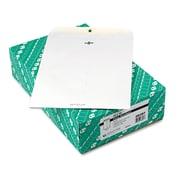 Quality Park™ Clasp Envelope, Clasp/Gummed Flap, 10 x 13, White Wove, 100/Box (38397)