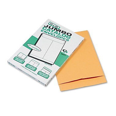 Quality Park Products® 22in. x 27in. Brown 28 lbs. Jumbo Size Catalog Envelopes, 25/Box