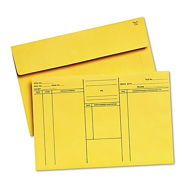 Quality Park Products® 12in. x 16in. White 18 lbs. Booklet Expansion Envelopes, 100/Box