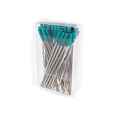 Monteverde® Medium Ballpoint Refill For Cross Ballpoint Pens, Turquoise, 50/Pack
