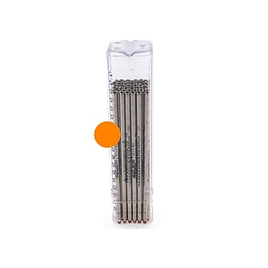 Monteverde® Superbroad 1.4 mm Mini D-1 Ballpoint Refill, Orange, 50/Pack