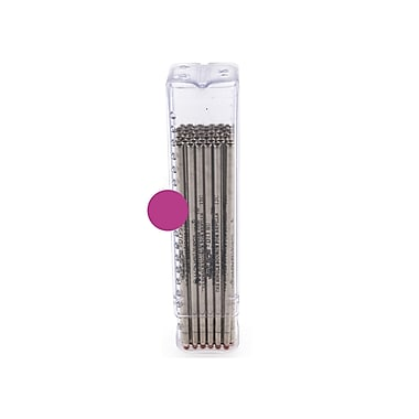Monteverde® Superbroad 1.4 mm Mini D-1 Ballpoint Refill, Pink, 50/Pack