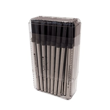 Monteverde® Broad Capless Ceramic Rollerball Refill For Pelikan BP Pens, Black, 50/Pack