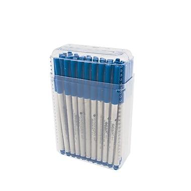 Monteverde® Fine Rollerball Refill For S.T. Dupont Rollerball Pens Fine, Blue, 50/Pack