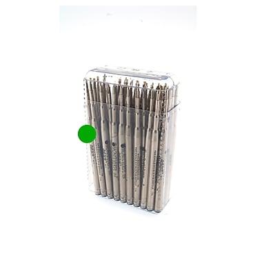 Monteverde® Medium Ballpoint Refill For Waterman Ballpoint Pens, Green, 50/Pack