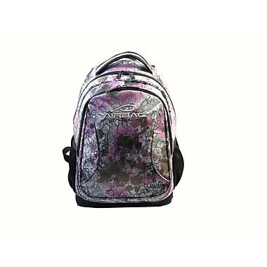 Airbac Curve Backpack, White/Pink