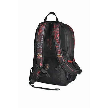 Airbac Groovy  Backpack, Red