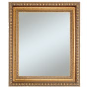 Lucia Wall Mirror, Vintage Gold, 36 x 30