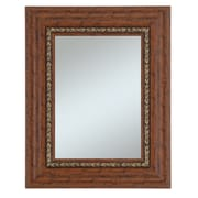 44 x 32 Beveled Crestwood Wall Mirror, Cherry