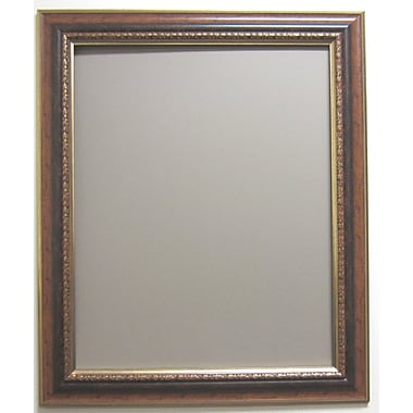 37in. x 31in. Auburndale Wall Mirror, Bronze/Gold