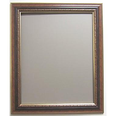 37in. x 31in. Auburndale Wall Mirror, Bronze/Gold