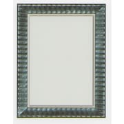 42 x 30 Beveled Rivauge Wall Mirror, Black