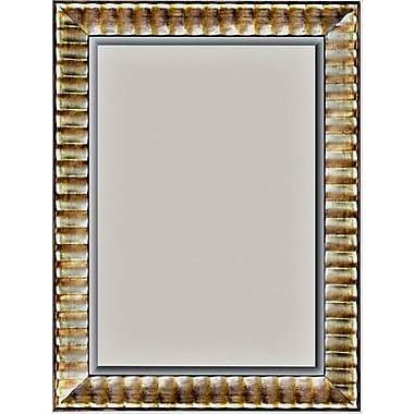 42in. x 30in. Rivauge Wall Mirror, Silver
