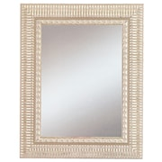 42 x 30 Beveled Haverhill Large Wall Mirror, Silver
