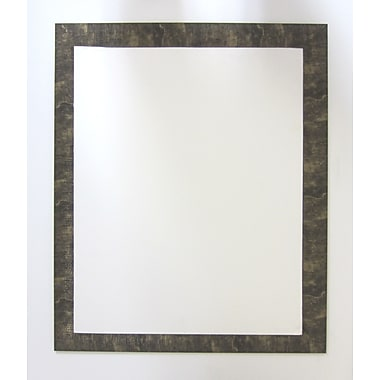 42 1/2in. x 30 1/2in. Camile Wall Mirror, Gold/Black