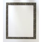 42 1/2 x 30 1/2 Camile Wall Mirror, Gold/Black