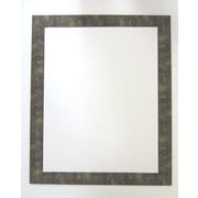 42 1/2 x 30 1/2 Beveled Camile Wall Mirror, Gold/Black