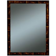 Oriana Family Wall Mirror, Brown/Gold, 33 x 27