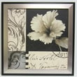 Soft Canvas Floral I Wall Art, Silver/Black, 23 3/4in. x 23 3/4in.
