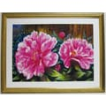 Premier Blooming Peony Wall Art, Gold, 34in. x 43 1/2in.