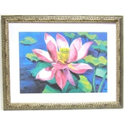 Premier Water Lilly II Wall Art, Silver, 30 1/2 x 39 1/2