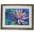 Premier Water Lilly I Wall Art, Silver, 30 1/2in. x 39 1/2in.