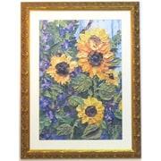 38 x 29 Premier Sunflowers Wall Art, Gold
