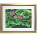 31 1/2in. x 38 1/2in. Premier Lotus Wall Art, Gold